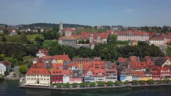 Thumbnail for Aerial View of Meersburg, Germany