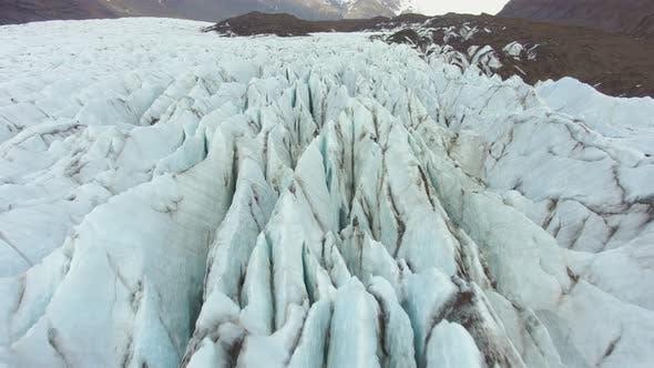 Thumbnail for Svinafellsjokull Glacier. Iceland. Aerial View