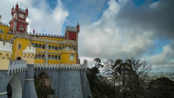 Thumbnail for sintra portugal castle tourists