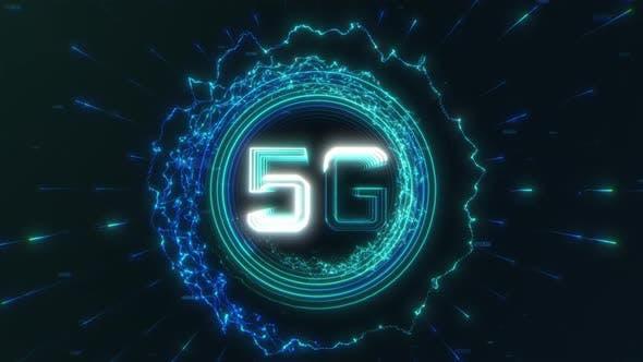 5G HUD Background