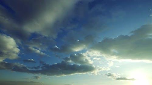 Dark Grey Rain Cumulus Clouds
