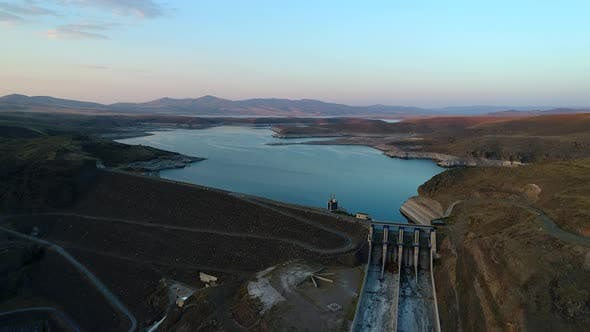 Thumbnail for Aerial View Of Dam
