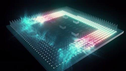 Zentralverarbeitungseinheit des Zentralprozessors 4K