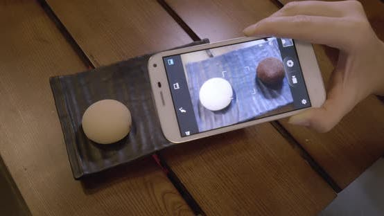 Cover Image for Taking Picture of Mochi Dessert with Mobile Phone