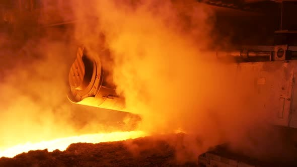 Heavy Industry And Metallurgical Plant Of Steel Production