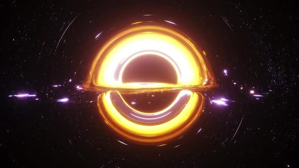 Thumbnail for Black Hole Simulation Seamless Loop