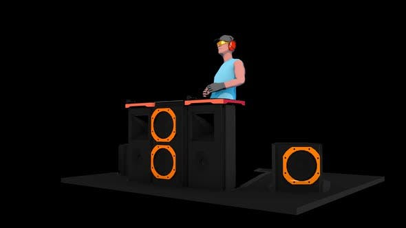 Thumbnail for 3D Sketch DJ MASTER VJ