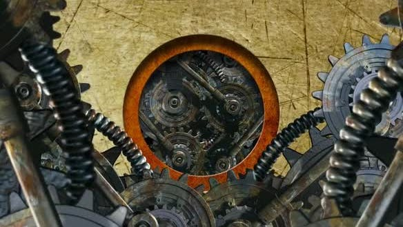 Grunge Circle Machine