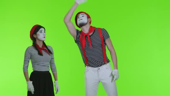 Thumbnail for Mimes Show Parodies On A Transparent Background