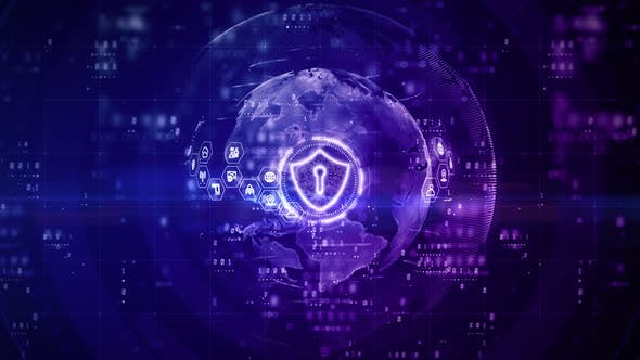 Shield Icon Of Cyber Security 961