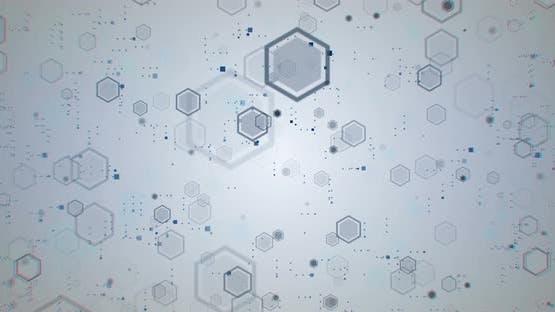 Hexagons Digital Background