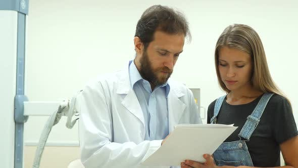 Thumbnail for The Patient Signs the Diagnosis of a Doctor