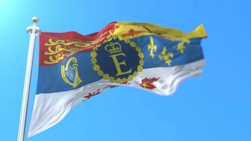 Personal Standard of Elizabeth II, Queen of Canada.
