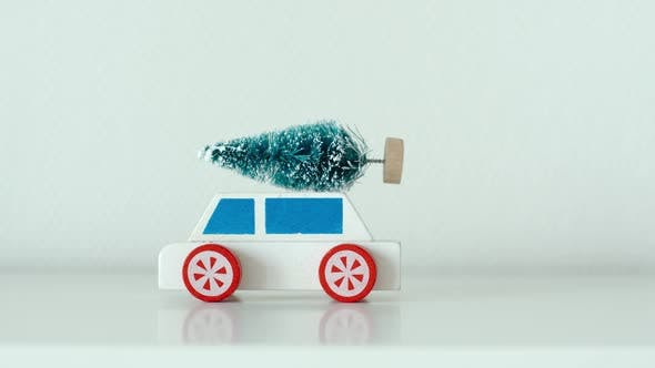 Thumbnail for Toy car delivers a fir in the New year