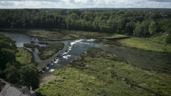 Thumbnail for Venta Rapid Waterfall Aerial