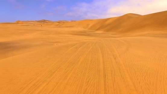 Thumbnail for Stunning Desert Scenery Including Red Dunes at Sossusvlei