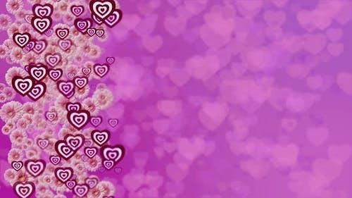 Valentines Background Loop