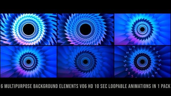 Mehrzweck-Hintergrund-Elemente V06