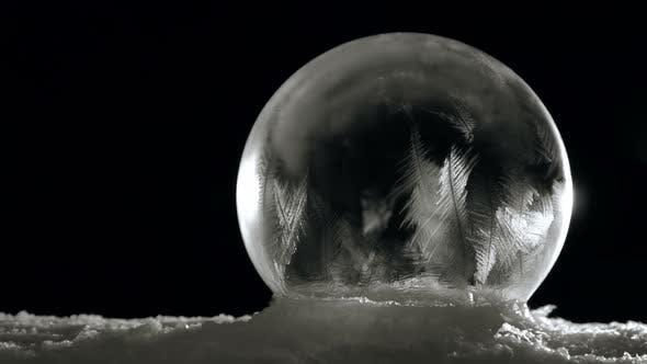 Thumbnail for Ice Globe Freezing Slow