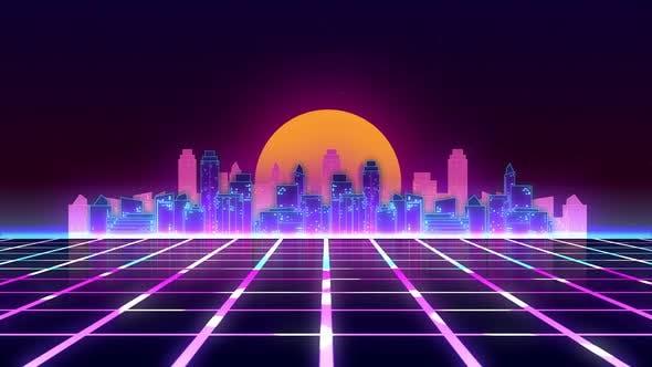 Cyberpunk Background Ver.2