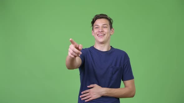 Thumbnail for Young Handsome Teenage Boy Laughing