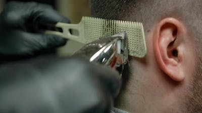 Trimming Comb with Trimmer Tool for Straightening Hair