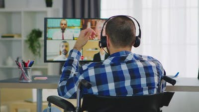 Using Headphones on Video Call