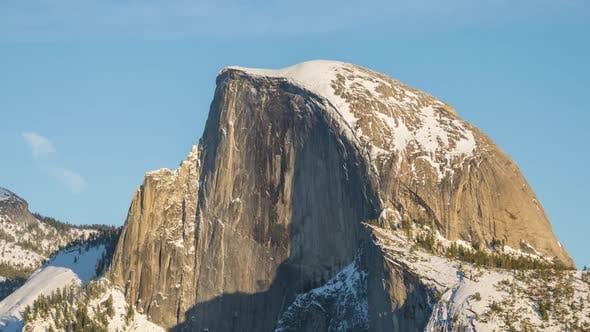 Thumbnail for Half Dome at Sunset in Winter. Yosemite National Park. California, USA
