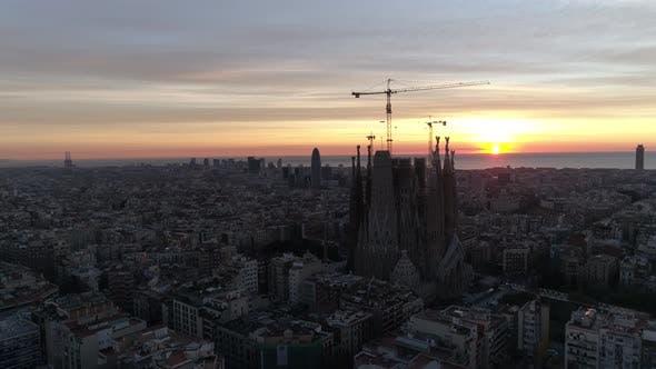 Sagrada Familia  at Sunrise - product preview 0