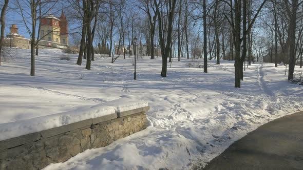 Thumbnail for Park Kreschatyk on a winter day