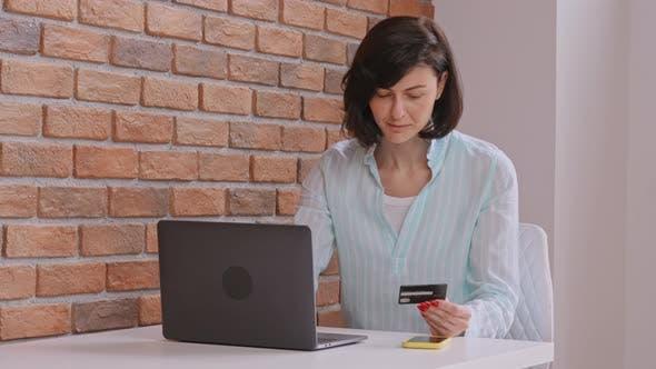 Joyful Client Pays Online