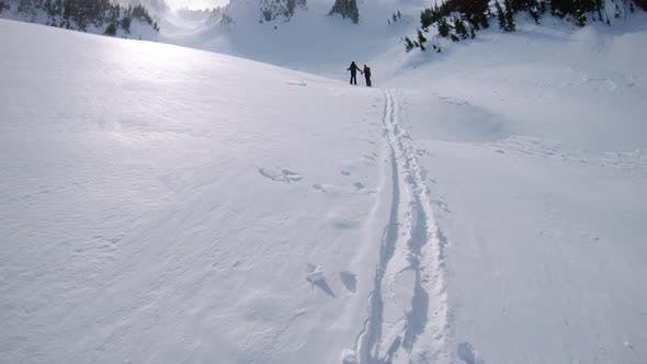 Backcountry Ski Touring In Mt Rainier National Park