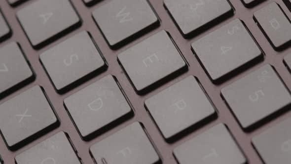 Thumbnail for Close Up of Modern Laptop Keyboard