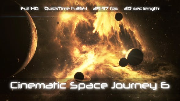Thumbnail for Cinematic Space Journey 6