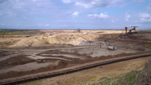 Open Pit Iron Ore Mining