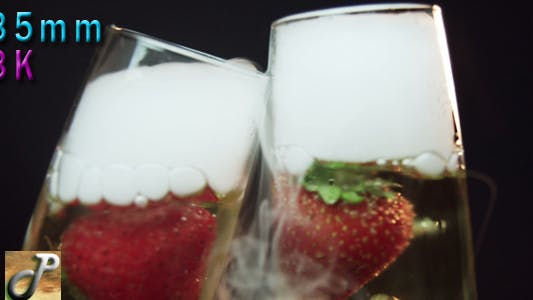 Thumbnail for Celebrating With Champagne Strawberries