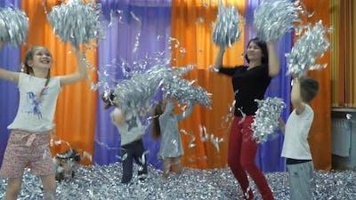 Children's Playroom. Paper Show for Children