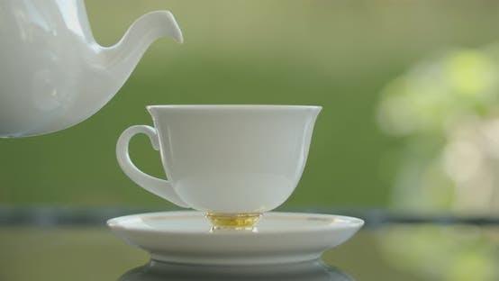 Elegant Coffee Serving