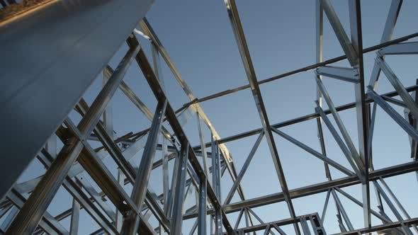 House Skeleton Steel Frame