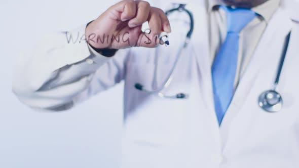 Indian Doctor Writes Warning Signs