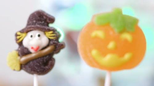 Halloween Süßigkeiten Lutscher
