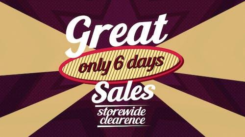 Commercial discounts (E-shop Advertisement)