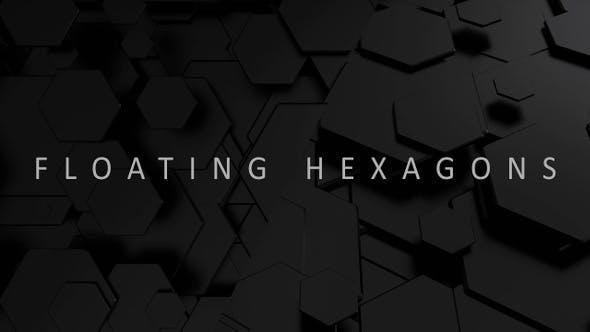 Thumbnail for Floating Black Hexagons
