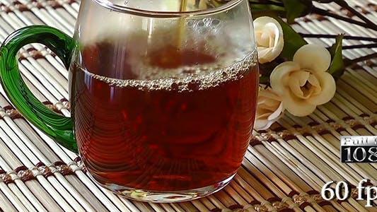 Pouring Tea for Tea Time