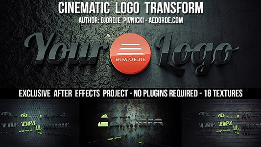 Thumbnail for Cinematic Logo Transform