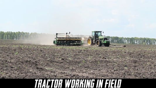 Thumbnail for Tractor Working In Field 3
