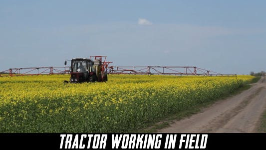 Thumbnail for Tractor Working In Field 5