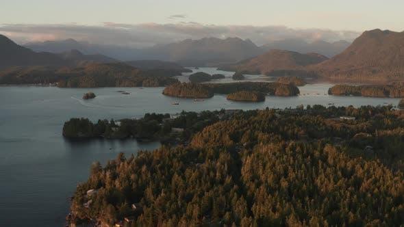 Thumbnail for Aerial Flight of Tofino British Columbia
