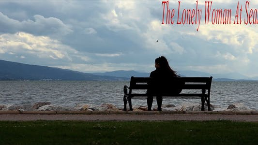Thumbnail for The Lonely Woman At Seaside