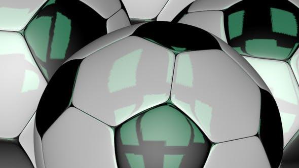 3D Classical Soccer Ball